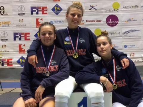 3 médaillées 1