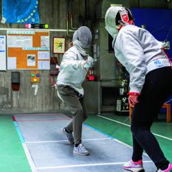 Escrime santé sport cancer Grenoble