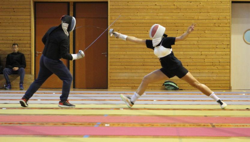 fencing summer camp vaujany